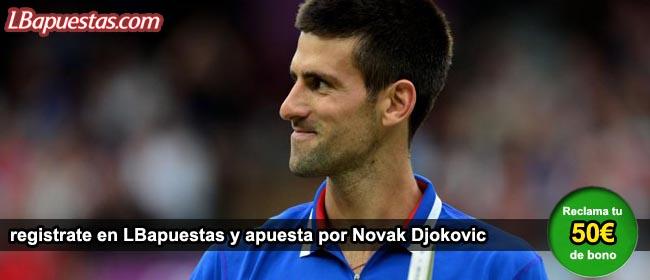 Apuestas por Novak Djokovic