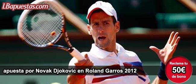 Novack Roland Garros 2012