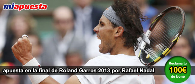 Nadal final Roland Garros 2013