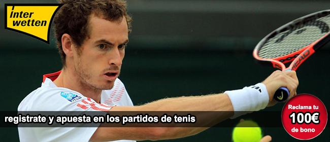 Descubre como apostar en los partidos de tenis con Interwetten