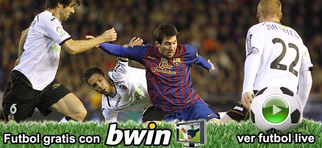 Apostar en vivo en futbol con Bwin