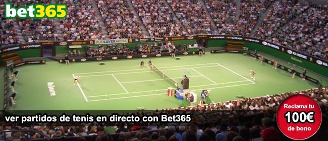 Apuestas Bet365 en directo en tenis