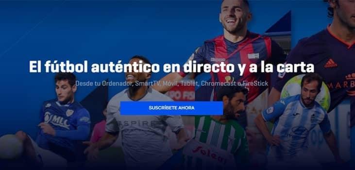 ver fútbol online en footters