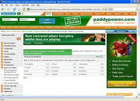 Paddypower: Nefasta apuesta contra jugadores del Liverpool