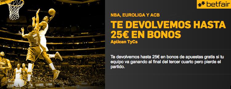 Nueva promoción para los partidos de baloncesto