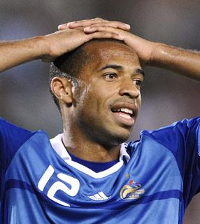 Apuestas Eliminatorias Sudáfrica 2010: Francia a todo a nada