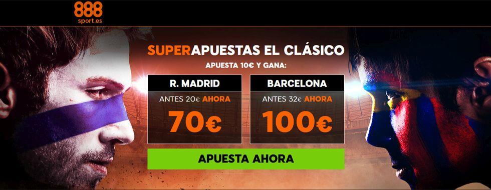 888sport presenta Superapuestas en el Clásico
