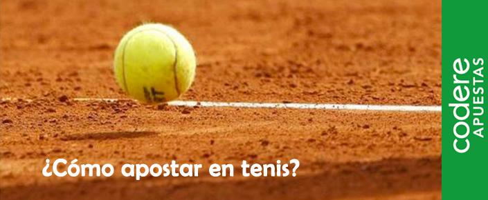 Cómo apostar con Codere en un partido de tenis