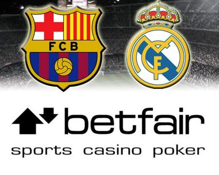 Promoción Betfair: Dos entradas para el Barcelona - Real Madrid
