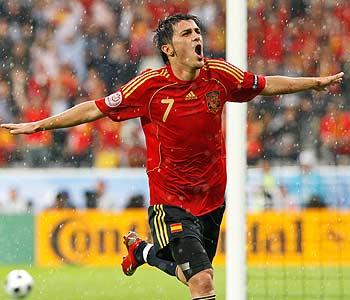 David Villa: Manantial incesante de goles