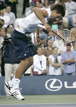 Tenis: El show de Djokovic