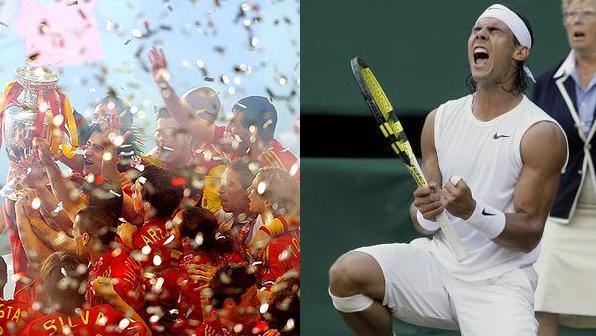 España: Una potencia mundial -Parte I- La Selección Española y Rafael Nadal