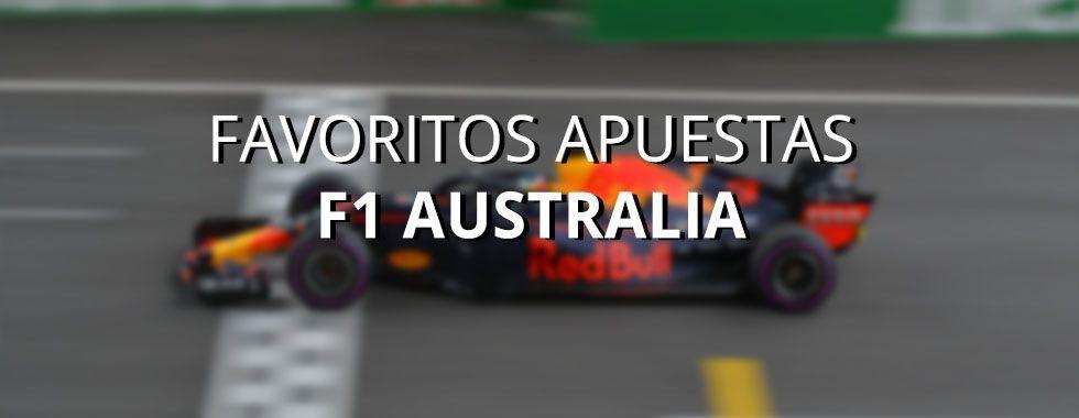 Apuestas Fórmula 1 Australia