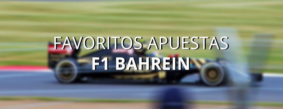 Apuestas formula 1 Bahrein