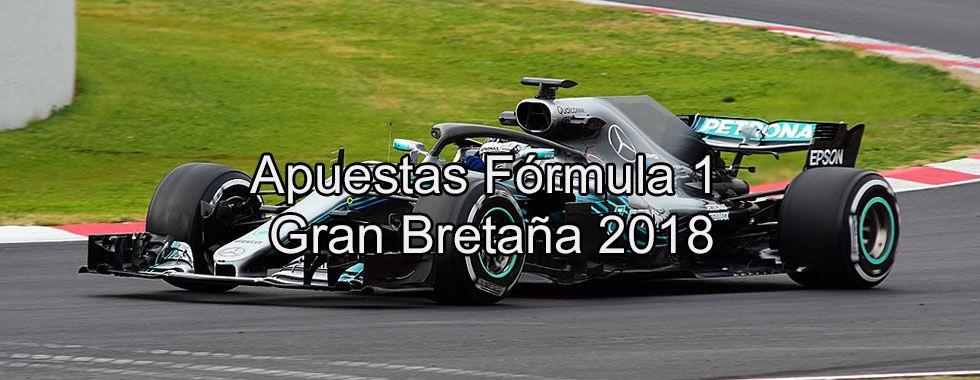 Apuestas Fórmula 1 Gran Bretaña 2018