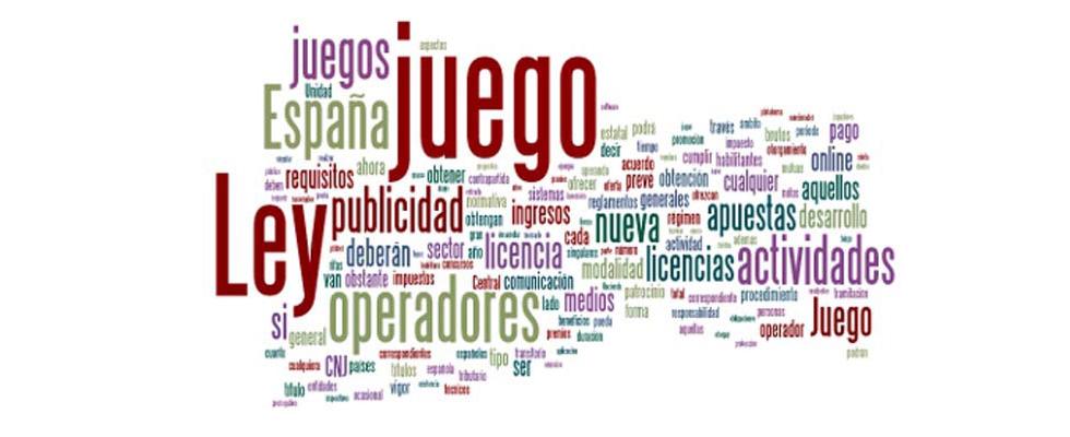 La nueva ley del juego en España 2012
