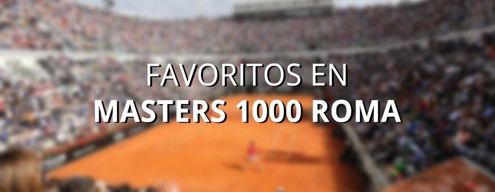 Favoritos Masters 1000 Roma