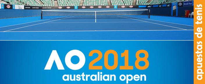 Favoritos Open Australia 2018