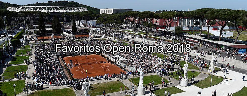 Favoritos Open Roma 2018