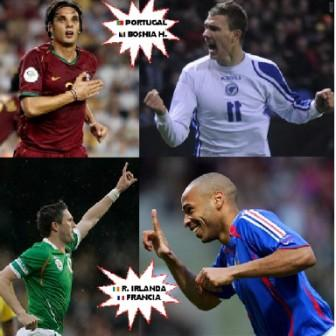 Apuestas Eliminatorias UEFA: Una repesca explosiva camino a Sudáfrica 2010