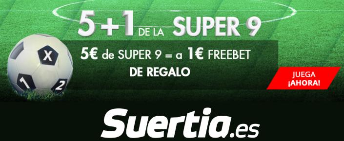Suertia presenta la promoción SUPER9
