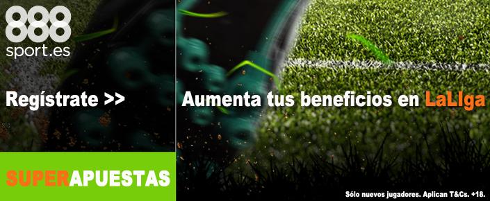 Apostar a La Liga Santander en 888sport