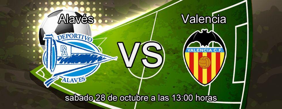 Apuesta segura de la semana para el partido Alavés - Valencia