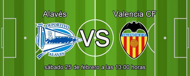 Previa del partido Alavés - Valencia
