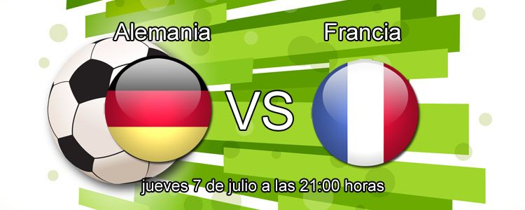 Alemania - Francia en la semifinal de la Eurocopa 2016