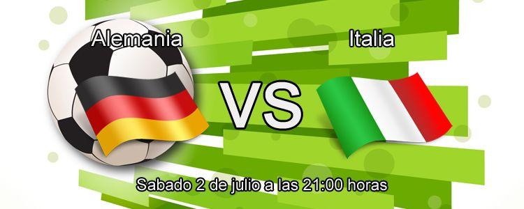 Previa del partido Alemania - Italia