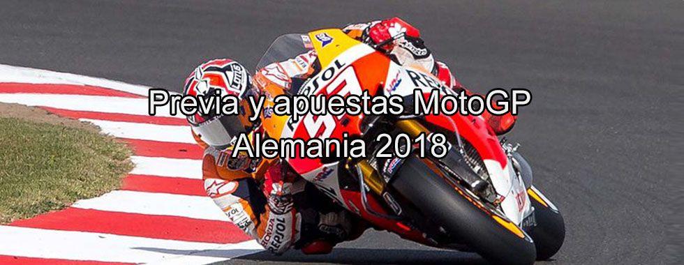 Previa y apuestas MotoGP Alemania 2018