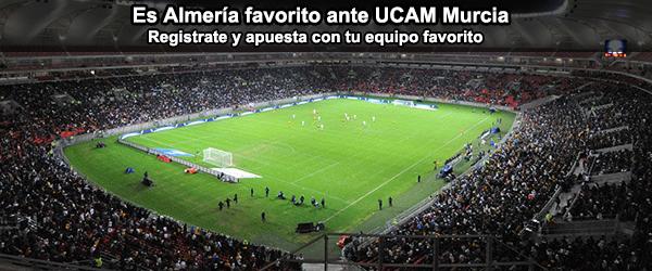 UD Almería favorito en el partido amistoso frente UCAM Murcia