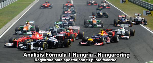Análisis Gran Premio de Fórmula 1 Hungría - Hungaroring