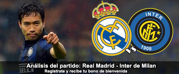 Análisis del partido: Real Madrid - Inter de Milan