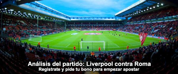Análisis del partido: Liverpool contra Roma