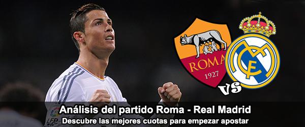 Análisis del partido de 30 de Julio: Roma - Real Madrid