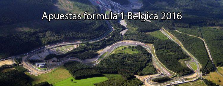 Apuestas formula 1 Belgica 2016