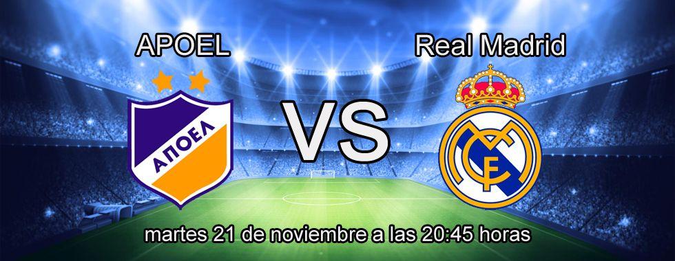 Apuesta con Paf en el partido Apoel - Real Madrid