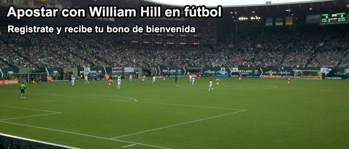 Apostar con William Hill en fútbol