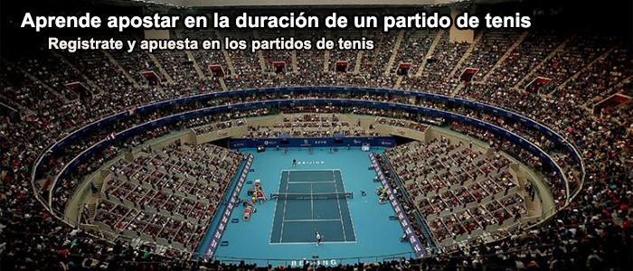 Aprende apostar en la duración de un partido de tenis