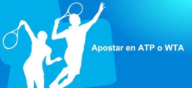 Apostar en ATP o WTA