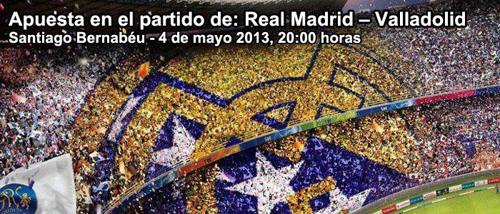 Apuesta en el partido de Real Madrid – Valladolid