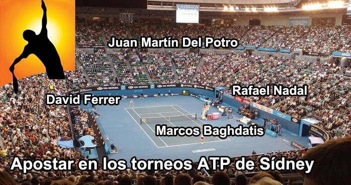 Apostar en los torneos ATP de Sídney