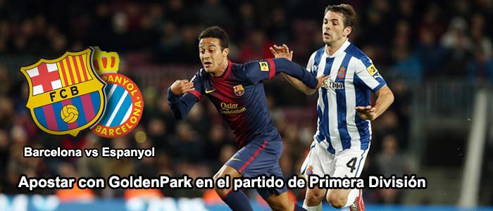 Apuestas partido Espanyol vs Barcelona