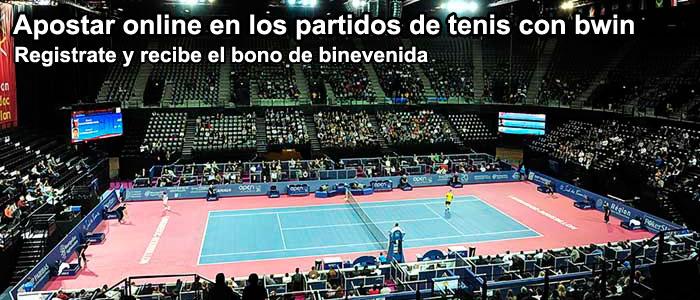 Apostar online en los partidos de tenis con bwin