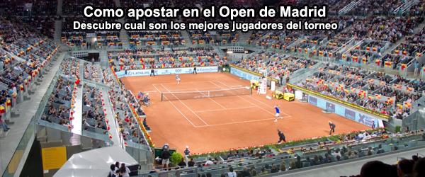 Los favoritos del Open de Madrid 2014