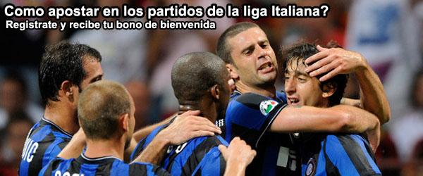 Como apostar en los partidos de la liga Italiana?