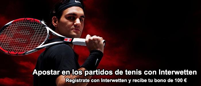 Apuestas en tenis con Interwetten