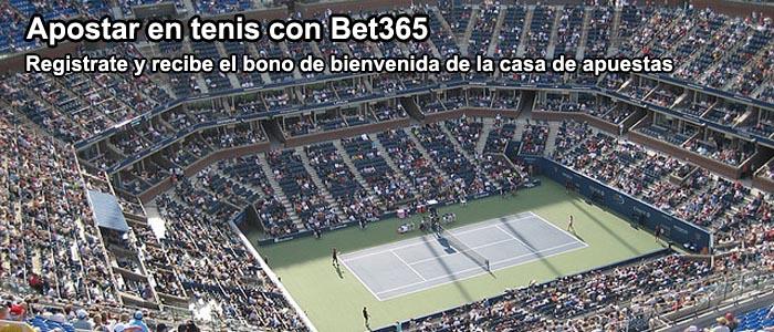 Apostar en tenis con Bet365