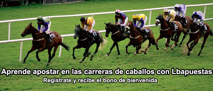 Aprende apostar en las carreras de caballos con Lbapuestas